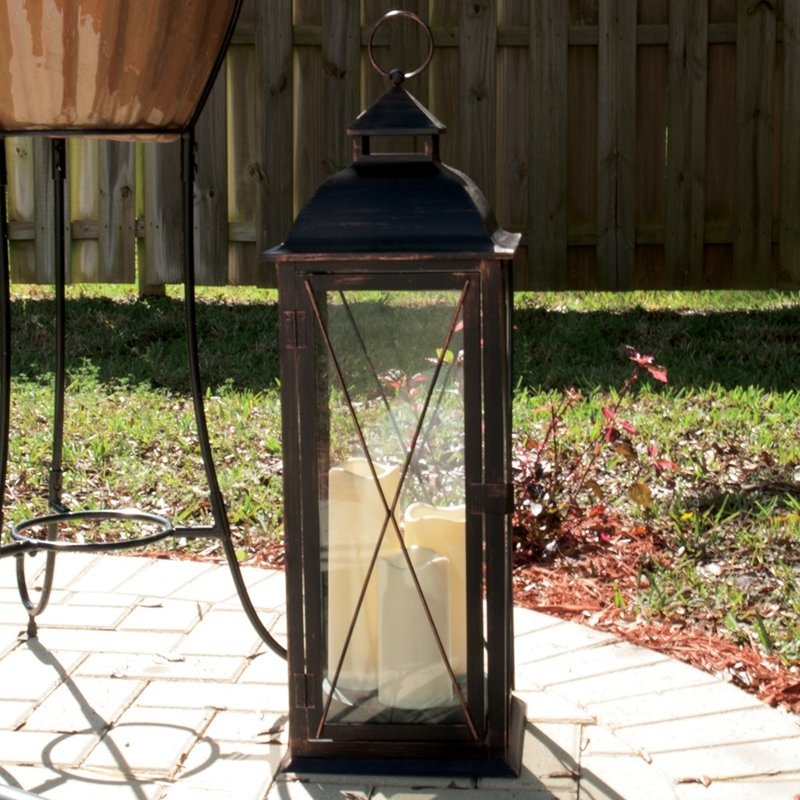 Outdoor Lanterns For Patio Pertaining To Outdoor Lanterns For Patio (View 10 of 15)