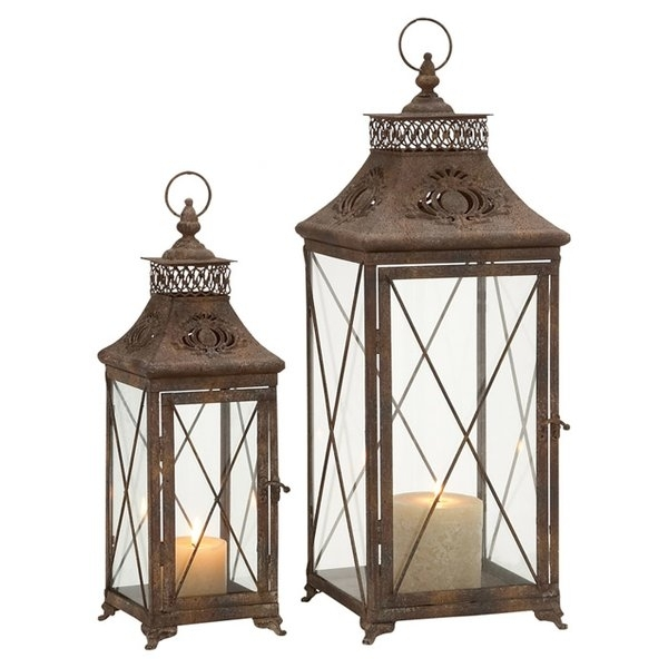 Outdoor Lanterns | Joss & Main With Regard To Outdoor Metal Lanterns For Candles (View 14 of 15)