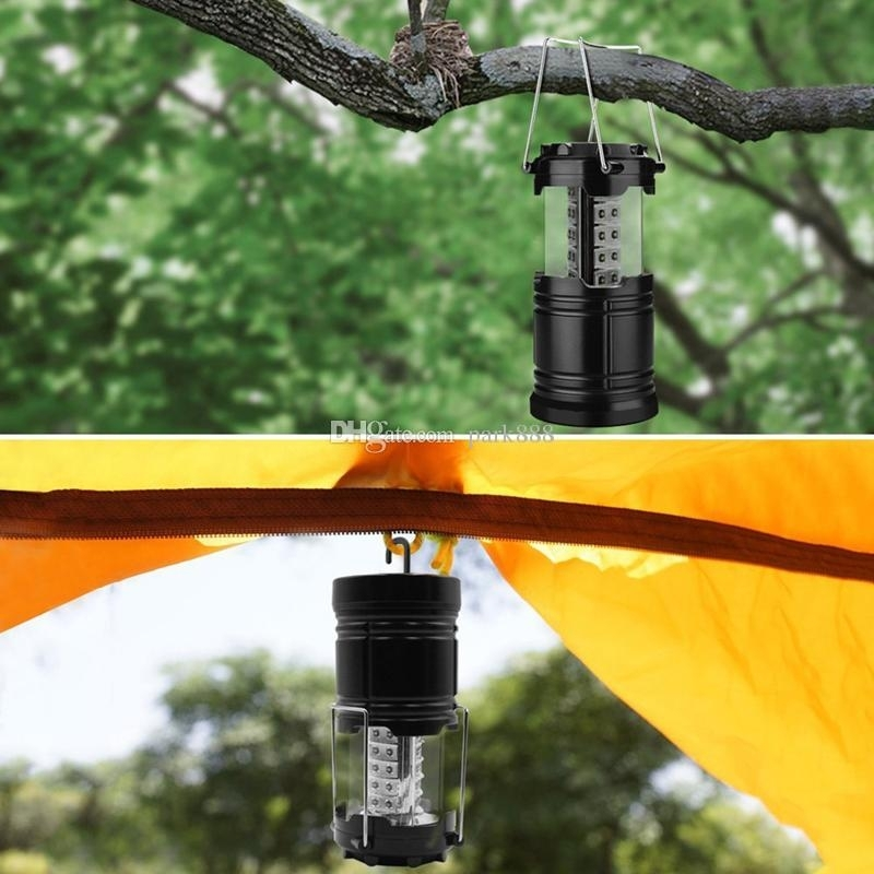 Outdoor Lanterns Lighting 30 Led Camping Lantern Brightest Tent Regarding Outdoor Lanterns (View 15 of 15)