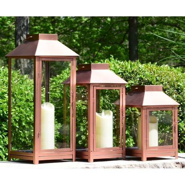 Outdoor Lanterns With Remote   Wayfair Intended For Outdoor Gazebo Lanterns (View 13 of 15)