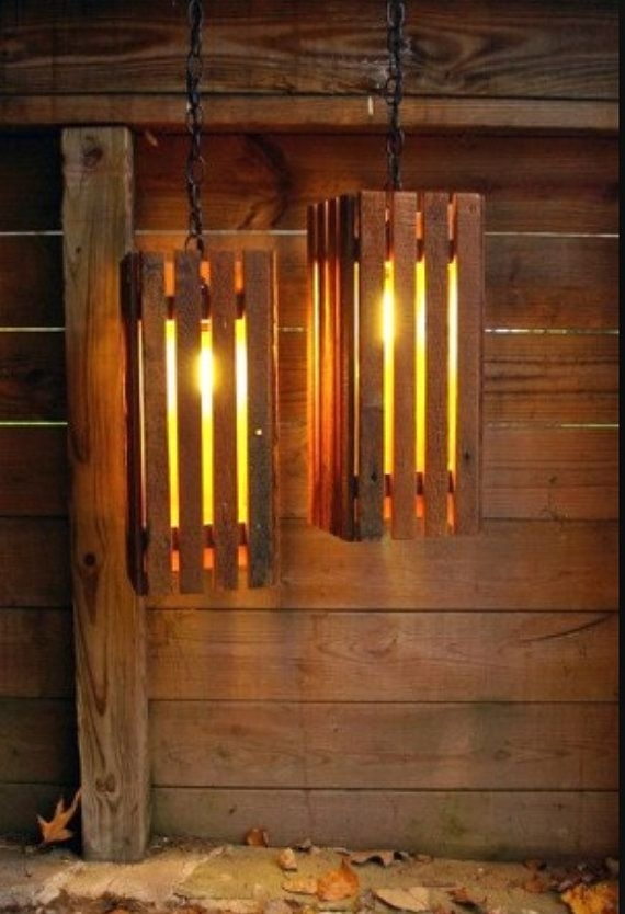 Outdoor Lanternsecofurnitureshop On Etsy | Can I Diy Throughout Etsy Outdoor Lanterns (View 12 of 15)
