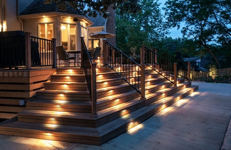 Outdoor Led Deck Lighting – Inlite Lighting For Outdoor Decks And For Outdoor Deck Lanterns (View 4 of 15)