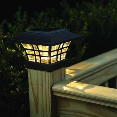 Outdoor Lighting & Exterior Light Fixtures At The Home Depot With Regard To Outdoor Deck Lanterns (View 13 of 15)