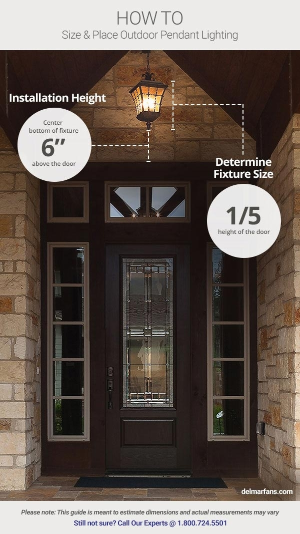 Outdoor Lighting Ideas & Tips: Add Curb Appeal With Front Door With Outdoor Lanterns For Front Door (View 7 of 15)