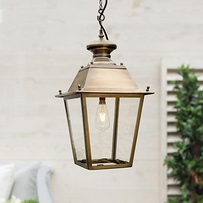 Outdoor Lighting | Outdoor Lanterns | Exterior Wall Lights | Jim Throughout Brass Outdoor Lanterns (#13 of 15)