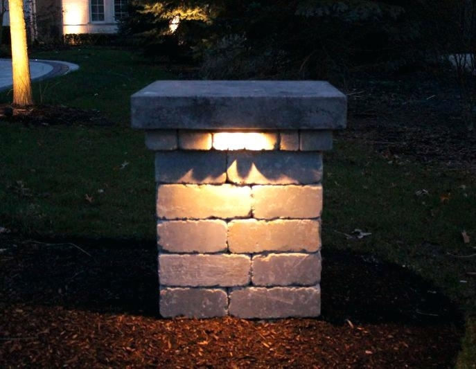 Outdoor Lighting Perspectives Lanterns For Columns The Preserve In Outdoor Lanterns For Pillars (#9 of 15)
