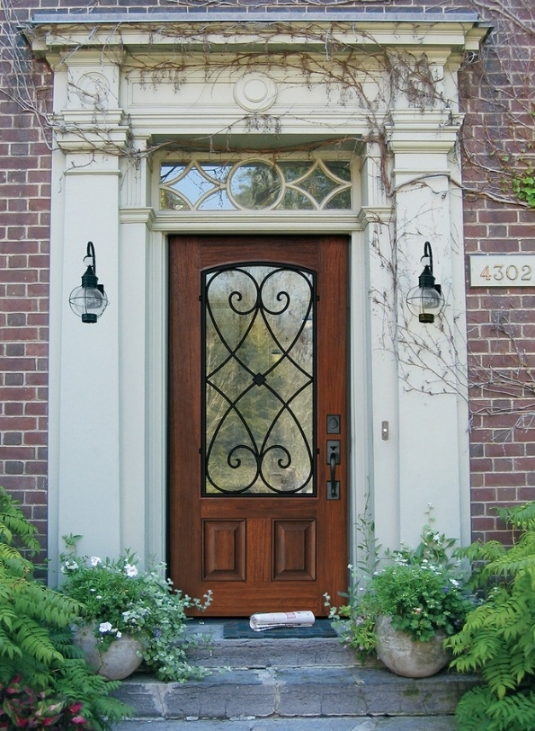 Outdoor Lighting With Lanterns Adds Old World Charm   Blog For Outdoor Lanterns For Front Door (View 3 of 15)