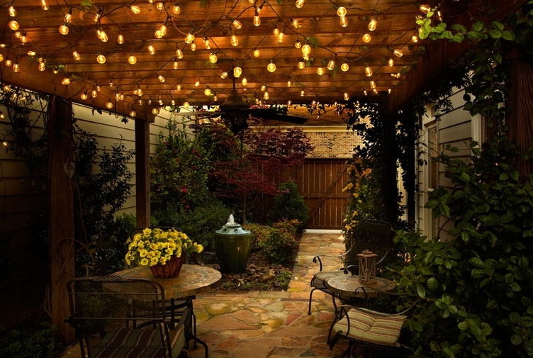 Outdoor Lighting With Outdoor Lanterns On String (View 12 of 15)
