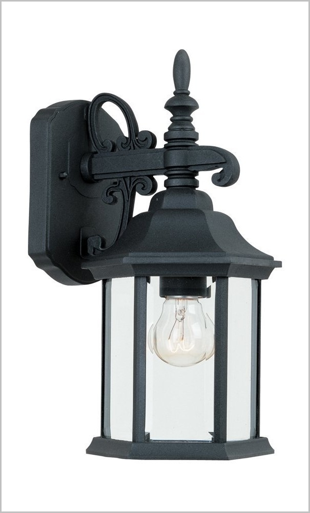 Outdoor Lights Lanterns » Lovely Bk Outdoor Wall Lantern Black Cast Regarding Outdoor Cast Iron Lanterns (#12 of 15)
