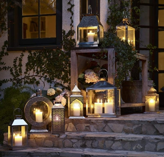Outdoor Living Lanterns Patios And Backyard Inside Outdoor Lanterns And Candles (View 15 of 15)