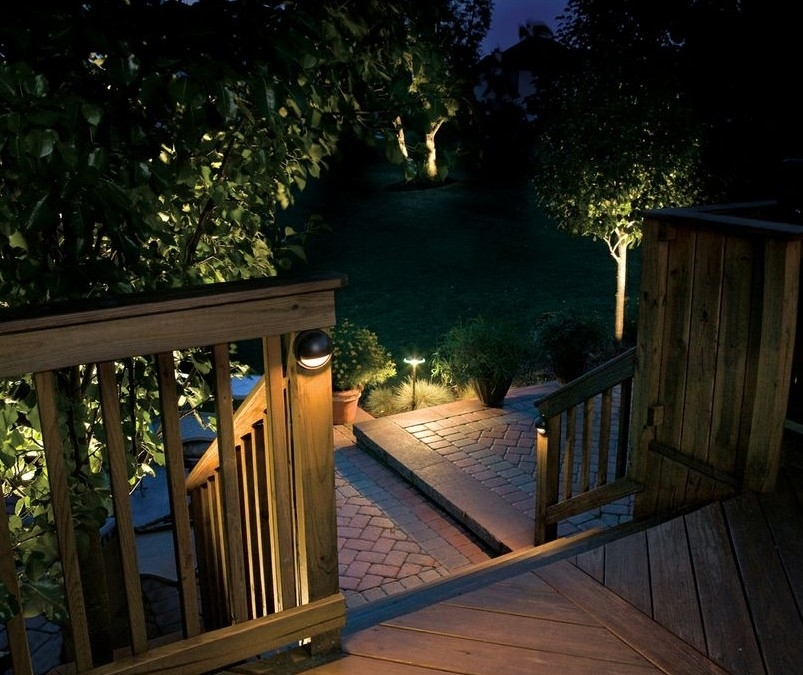 Outdoor Low Voltage Lighting In Outdoor Low Voltage Lanterns (#12 of 15)