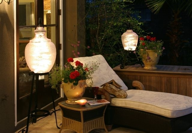 Outdoor Patio Lanterns – Best Home Interior • Within Outdoor Oil Lanterns For Patio (View 9 of 15)