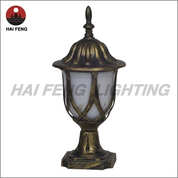Outdoor Pillar Light/ Haifeng Outdoor Lamp – Buy Pillar Gate Lights With Regard To Outdoor Lanterns For Pillars (#13 of 15)