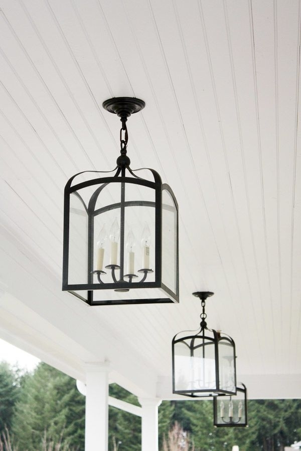 Outdoor Porch Lighting With Outdoor Porch Lanterns (#9 of 15)
