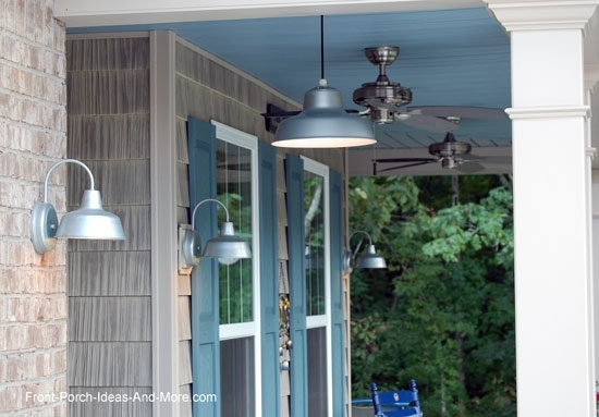 Outdoor Porch Lights For Ambiance On Your Front Porch Pertaining To Outdoor Lanterns For Front Porch (#13 of 15)