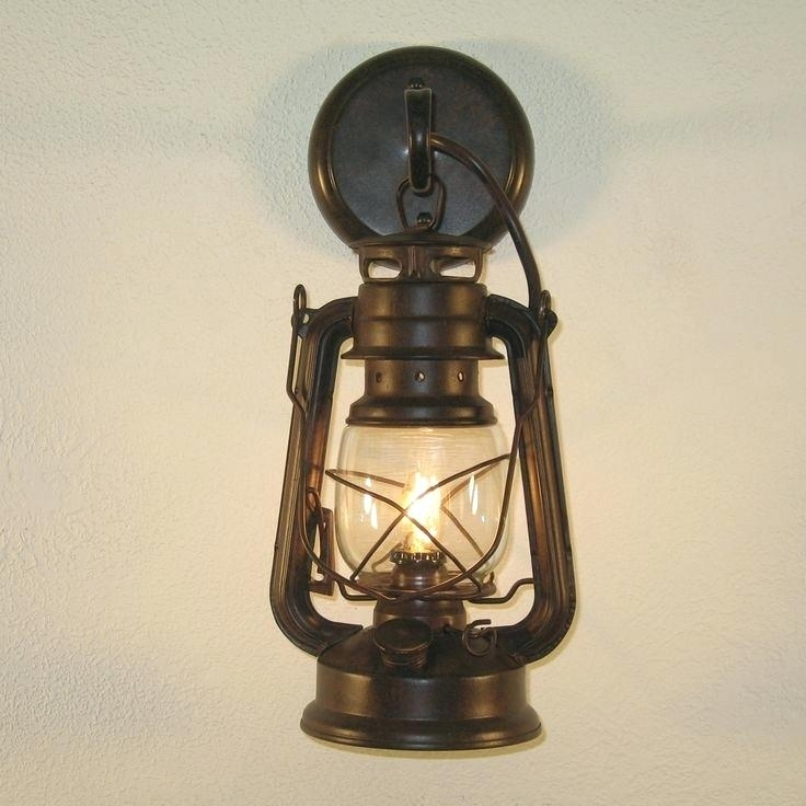 Outdoor Rustic Lighting – Therav Throughout Rustic Outdoor Electric Lanterns (#7 of 15)