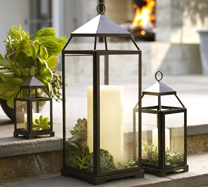 Outdoor Table Lanterns Cheap – Lyonsden Inside Outdoor Table Lanterns (View 3 of 15)