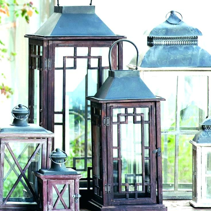 Outdoor Table Lanterns Solar Garden Lantern – Lyonsden In Outdoor Table Lanterns (View 5 of 15)