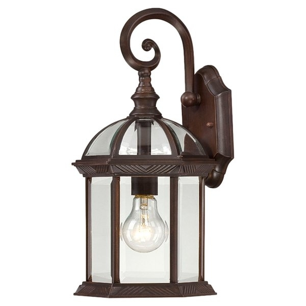 Outdoor Wall Lanterns You'll Love | Wayfair Intended For Gold Coast Outdoor Lanterns (#11 of 15)