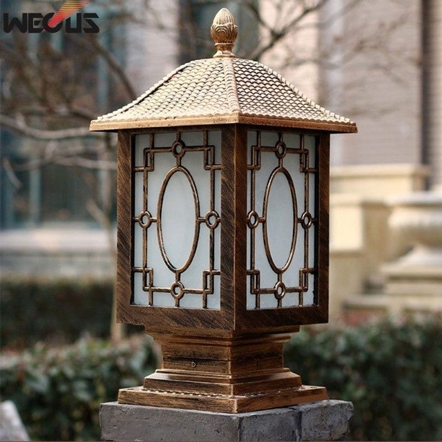 Popular Photo of Rust Proof Outdoor Lanterns