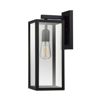 Outdoor Wall Mounted Lighting – Outdoor Lighting – The Home Depot For Wall Mounted Outdoor Lanterns (View 7 of 15)