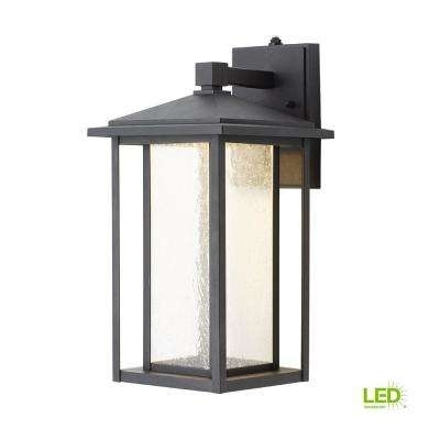Outdoor Wall Mounted Lighting – Outdoor Lighting – The Home Depot Regarding Led Outdoor Lanterns (View 3 of 15)