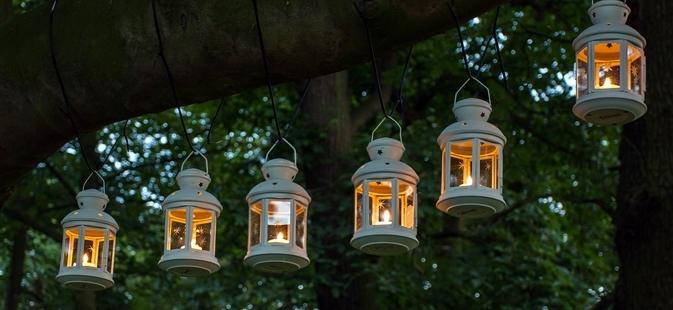 Outdoor Wedding Reception Lighting Tips – Werenttables Pertaining To Outdoor Tea Light Lanterns (#12 of 15)