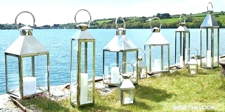 Outside Candle Lanterns – Megownsartistry Throughout Silver Outdoor Lanterns (#10 of 15)