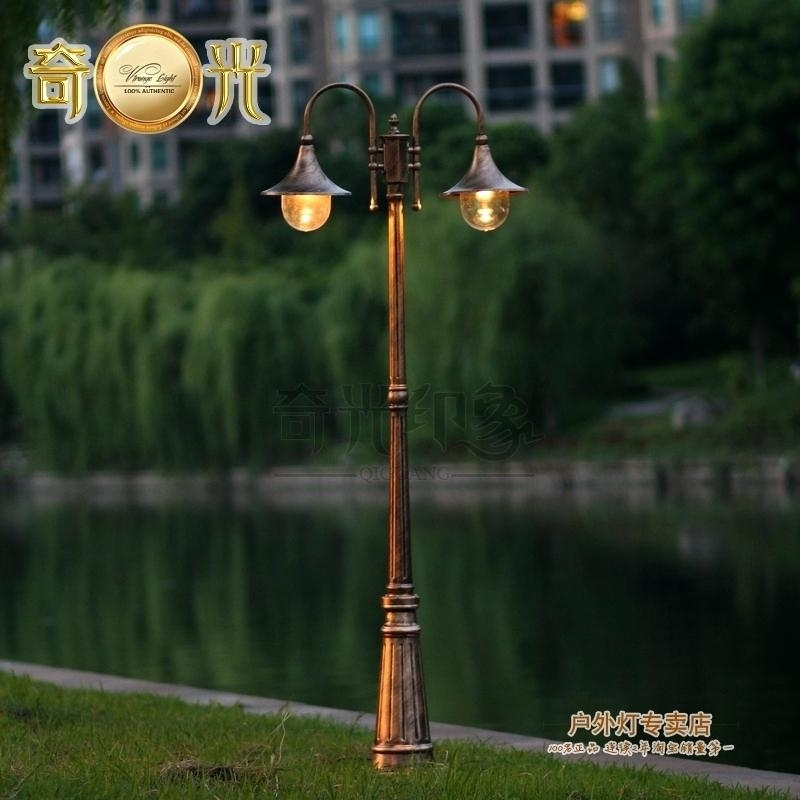 Outside Pole Lights Professional Lighting Outdoor Pole Lights For Inside Outdoor Pole Lanterns (#12 of 15)