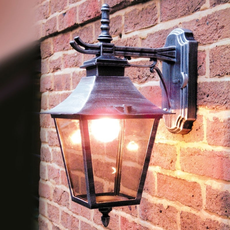 Inspiration about Paber Palazzo Coach Lantern Outdoor Wall Light – Lighting Direct Pertaining To Outdoor Mains Lanterns (#1 of 15)