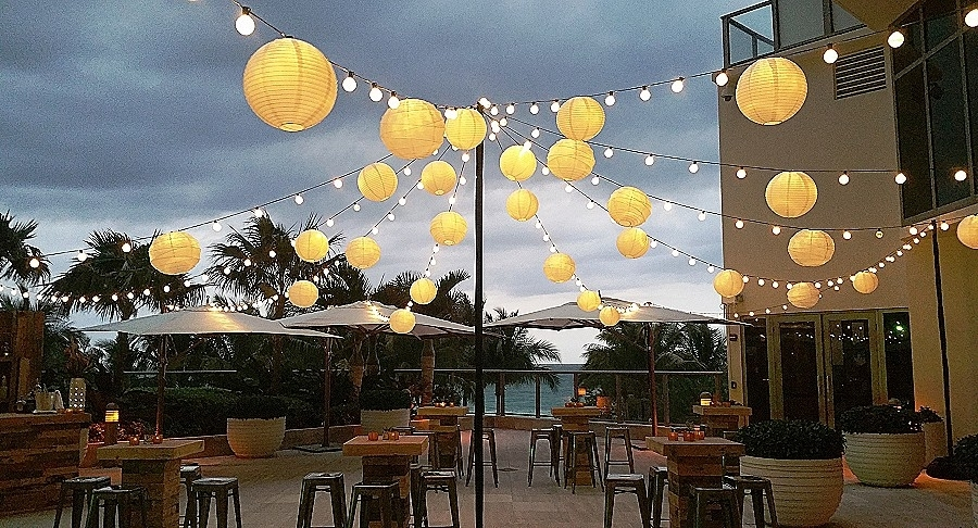 Paper Lantern: Lovely Small Paper Lanterns With Ligh With Outdoor Paper Lanterns For Patio (#13 of 15)