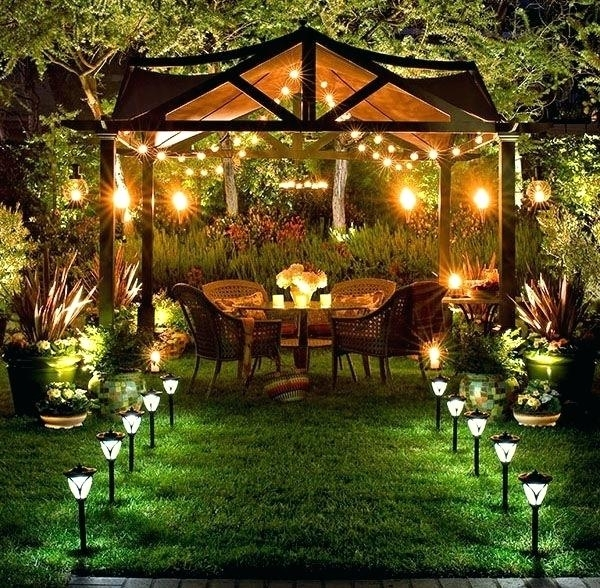 Inspiration about Paradise Landscape Lighting Awesome Led Low Voltage Landscape In Outdoor Yard Lanterns (#8 of 15)