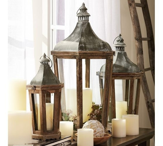 Inspiration about Park Hill Lantern | Lanterns | Pinterest | Pottery, Barn And Tall Mirror Inside Outdoor Lanterns At Pottery Barn (#3 of 15)
