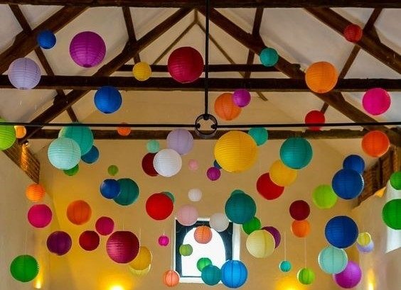 Inspiration about Party Planning With Paper Lanterns | Hometown Evolution With Regard To Outdoor Nylon Lanterns (#5 of 15)