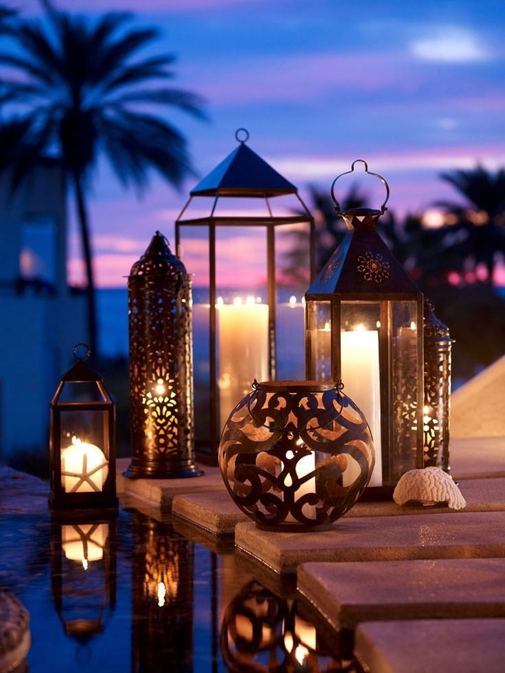 Patio Lantern Lights 361 Best Lanterns Images On Pinterest – Alluc Patio Throughout Outdoor Tropical Lanterns (View 7 of 15)