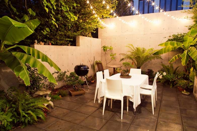 Patio Lighting Ideas And Light Up Palm Trees – Christmas Lights, Etc With Outdoor Tropical Lanterns (View 8 of 15)