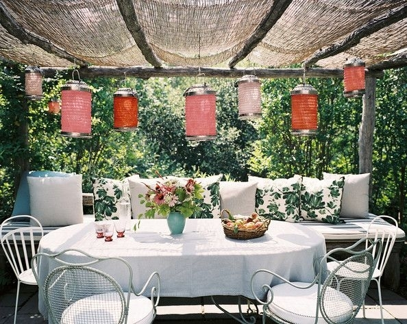 Inspiration about Patio Photos | Decorating Ideas | Pinterest | Paper Lanterns, Patios Regarding Outdoor Paper Lanterns For Patio (#3 of 15)