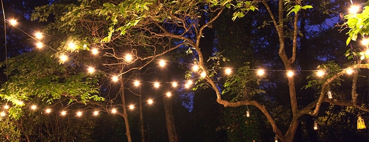 Inspiration about Patio String Lights And Bulbs In Outdoor Lanterns For Trees (#9 of 15)