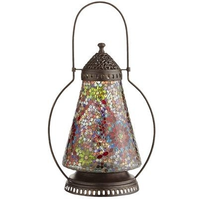 Inspiration about Pier 1 !!!! Floral Mosaic Lantern | My Style | Pinterest For Outdoor Mosaic Lanterns (#3 of 15)
