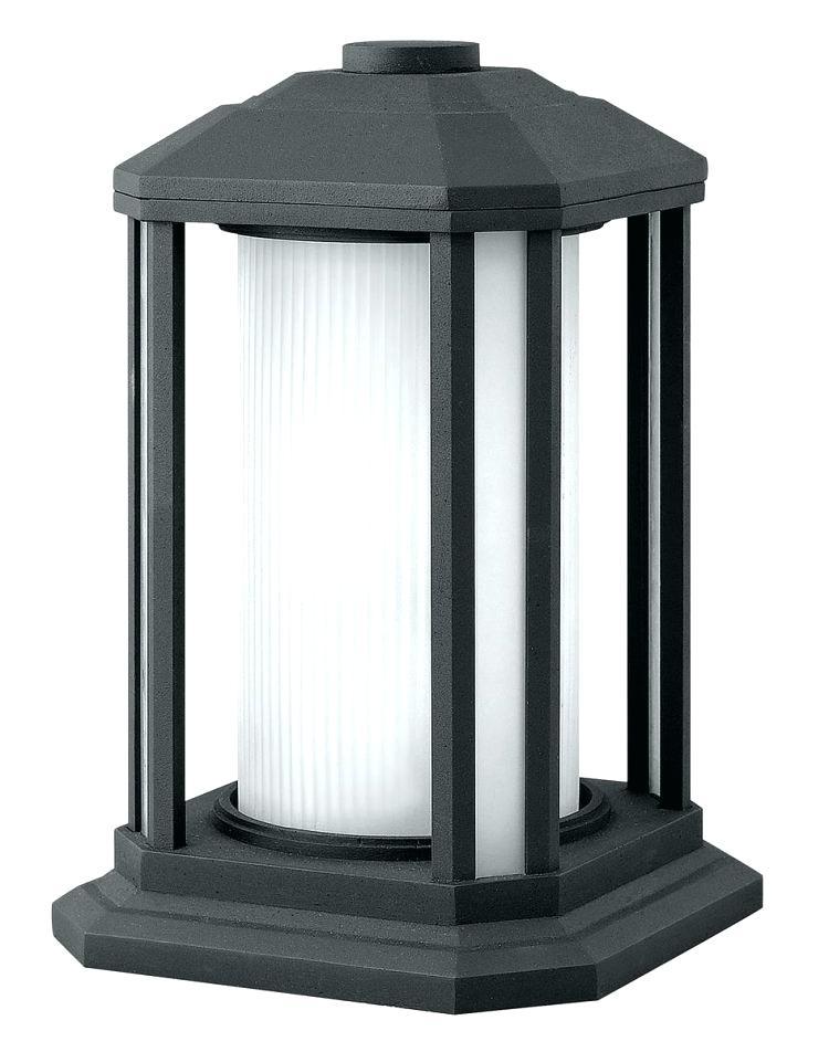 Inspiration about Pillar Light Fixtures Lighting Outdoor Lamp Post Light Fixtures Throughout Outdoor Lanterns For Pillars (#12 of 15)