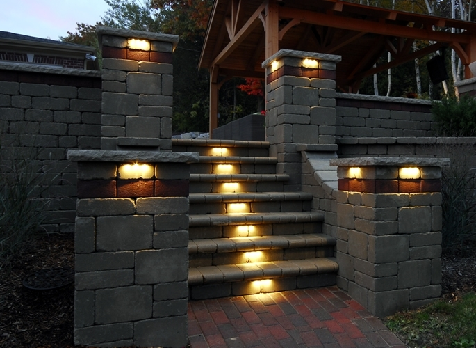 Pillar Lights Outdoor – Outdoor Lighting Ideas Throughout Outdoor Lanterns For Pillars (View 8 of 15)