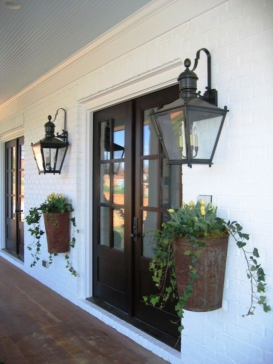 Pinbeth Holmes On Favorite Places & Spaces | Pinterest | Modern Intended For Outdoor Porch Lanterns (#12 of 15)