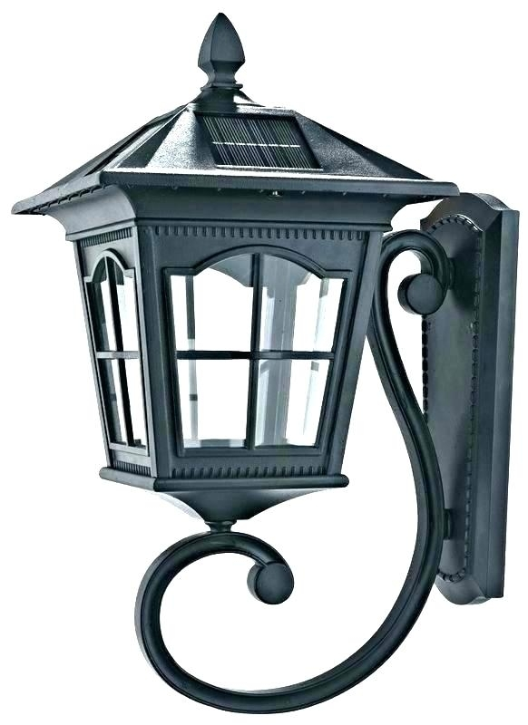 Porch Wall Lights Mesmerizing Motion Sensor Porch Light Fixture Intended For Outdoor Motion Lanterns (#12 of 15)