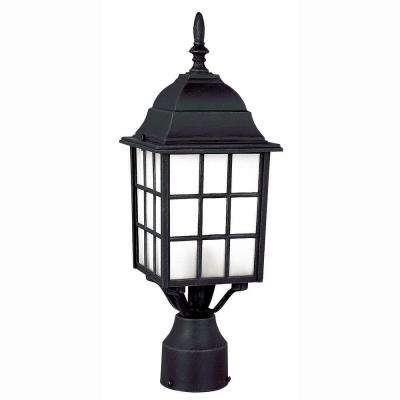 Inspiration about Post Lighting – Outdoor Lighting – The Home Depot In Resin Outdoor Lanterns (#4 of 15)