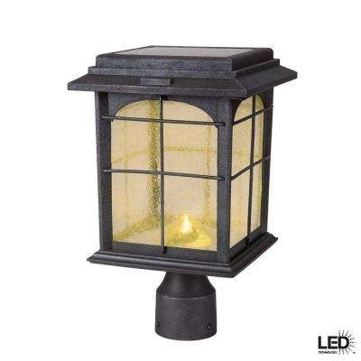 Post Lighting – Outdoor Lighting – The Home Depot Intended For Outdoor Post Lanterns (View 7 of 15)