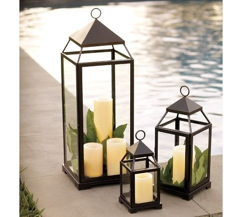 Pottery Barn Malta Lantern – Bronze Finish | Thankful Autumn For Outdoor Lanterns (View 9 of 15)