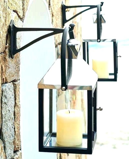 Inspiration about Pottery Barn Malta Lantern Silver. Pottery Barn Malta Lantern Brass Throughout Outdoor Lanterns At Pottery Barn (#13 of 15)