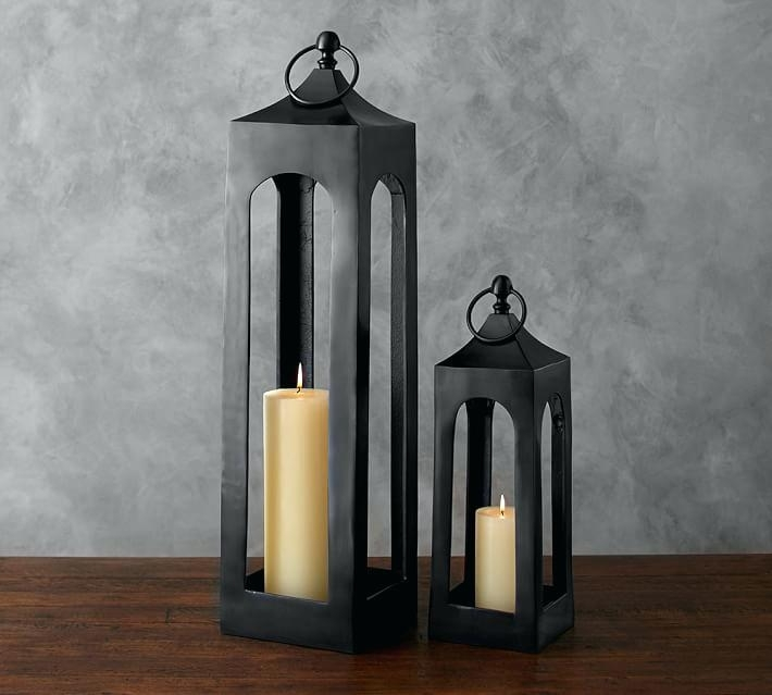 Popular Photo of Outdoor Lanterns At Pottery Barn