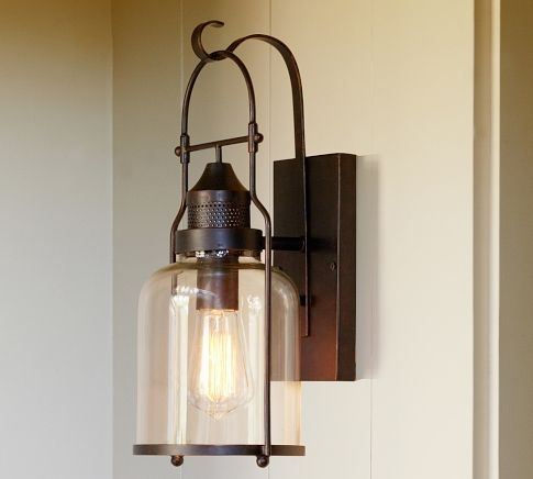 Inspiration about Pottery Barn Outdoor Lighting Within Outdoor Lanterns At Pottery Barn (#10 of 15)