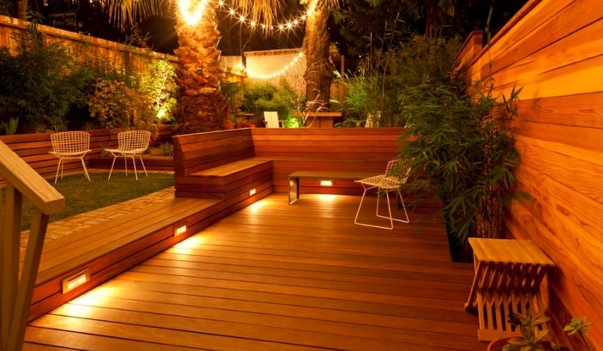 Practical Deck Lighting Ideas To Turn Your Backyard Into An Outdoor Intended For Outdoor Deck Lanterns (View 2 of 15)